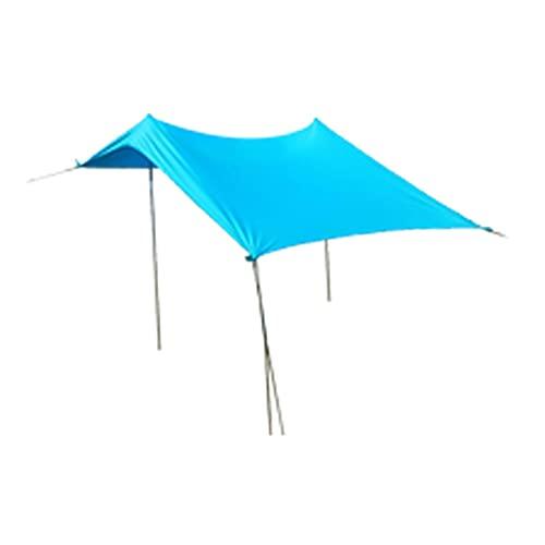 Strand Markise, Strand Sonnenschutz, Strand Shelter, Leichte, Tragbare Schatten Zelt Mit Sandbag ,Großfamilie Canopy Für Outdoor Angeln...