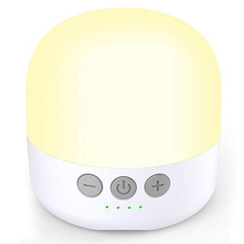 YFW Campinglampe LED Camping Laterne mit 5200mAh Aufladbar (Lichtzeit 255 Stunden), eingebauter starker Magnet & Stufenlos Dimmbar, 4...