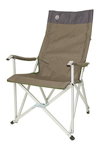 Coleman Faltstuhl Sling Chair mit Aluminiumgestell Zum Relaxen, Campingstuhl mit Armlehnen und hoher Rückenlehne, Transporttasche, bis Max....