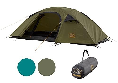 Grand Canyon APEX 1 - Kuppelzelt für 1-2 Personen   Ultra-leicht, wasserdicht, kleines Packmaß   Zelt für Trekking, Camping, Outdoor  ...