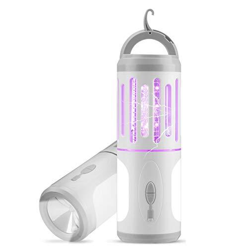 AODOOR Elektrischer Insektenvernichter, Mückenlampe, LED Mückenfalle, UV Insektenvernichter, Insektenlampe USB Tragbare, Moskito Killer...