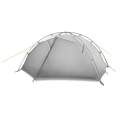 Ankon Pop Up Zelt Strandzelt Familie Camping Zelte Ultralight Camping Zelt 2 Person Einfache Einrichtung Doppelschicht Wasserdicht 3...