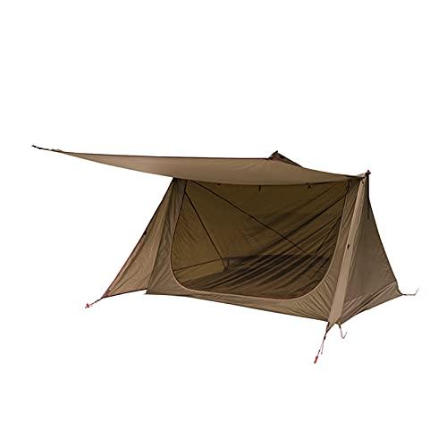 KLFD Doppelzelt Outdoor Camping Tragbarer Dschungel Survival Shelter Regendicht Moskito Belüftete Campingausrüstung 3 Jahreszeiten Zelt...
