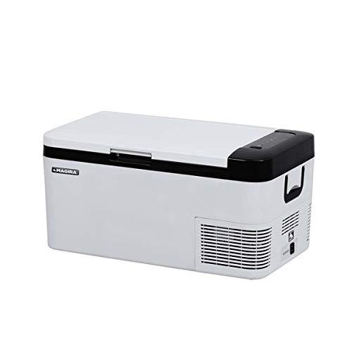 MAGIRA Cuba 18 Liter leichte Kompressor-Kühlbox 12/24V und 230V CB18-C elektrischer Mini-Kühlschrank für Camping, Auto oder LKW mit...