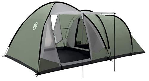 Coleman Waterfall 5 Deluxe Familienzelt, 5 Mann Zelt mit separatem Wohn und Schlafraum, einfach afzubauen, 5 Personen Zelt, Wasserdicht WS...