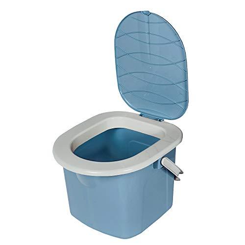 BranQ - Home essential Jungen Toilette BranQ Mobile Campingtoilette 15,5 Ltr. mit max. Tragkraft bis 120kg, Kunststoff BPA-freier PP,...