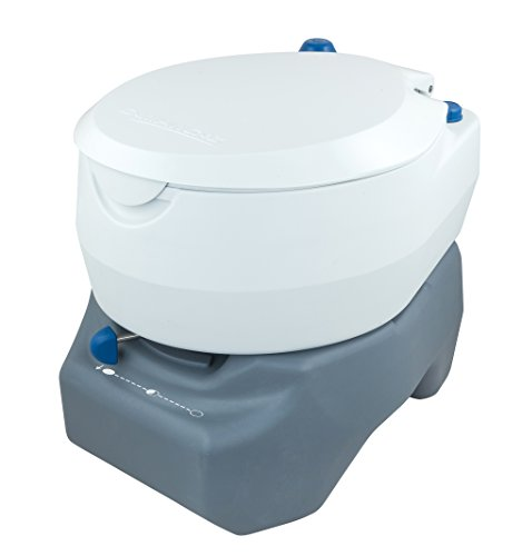 Campingaz Campingtoilette, Chemietoilette, chemische Toilette mit antimikrobiellem WC-Sitz und Schüssel für mehr Hygiene, Gartentoilette...