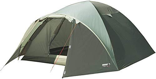 High Peak Kuppelzelt Nevada 4, Campingzelt mit Vorbau, Iglu-Zelt für 4 Personen, doppelwandig, 2.000 mm wasserdicht, Ventilationssystem,...