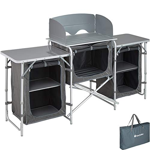 TecTake 800585 Outdoor Camping Küche - Diverse Modelle wähblar - (Typ 1   Nr. 402919)