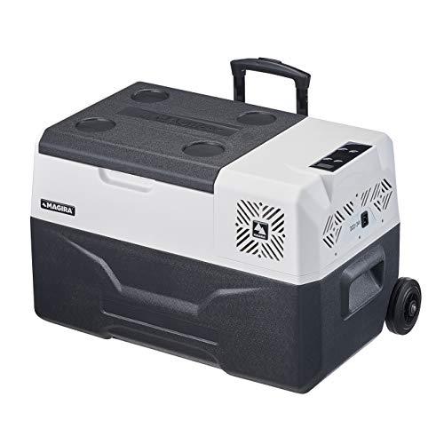 MAGIRA Alaska 30 Liter Kompressor-Kühlbox 12V und 230V MF30-C elektrischer Mini-Kühlschrank für Camping, Auto oder LKW mit Steckdose und...