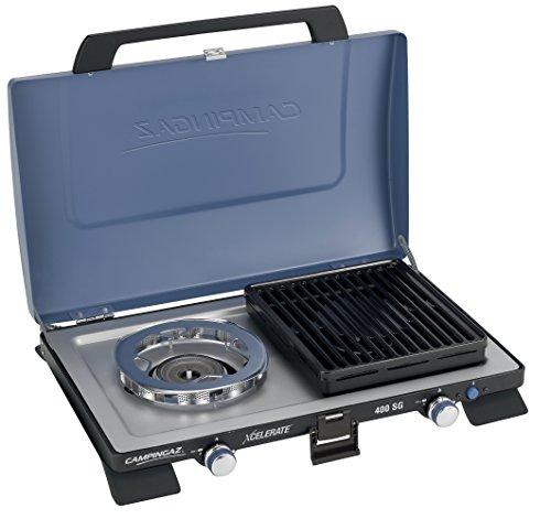 Campingaz 400 SG Campingkocher, Kompakter Outdoor Kocher Mit Windschutz, blau, S