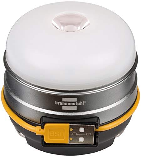 Brennenstuhl Akku LED Outdoor Leuchte OLI 0300 A (Campingleuchte für außen 350lm / Campinglampe mit bis zu 70h Leuchtdauer, Lampe zum...
