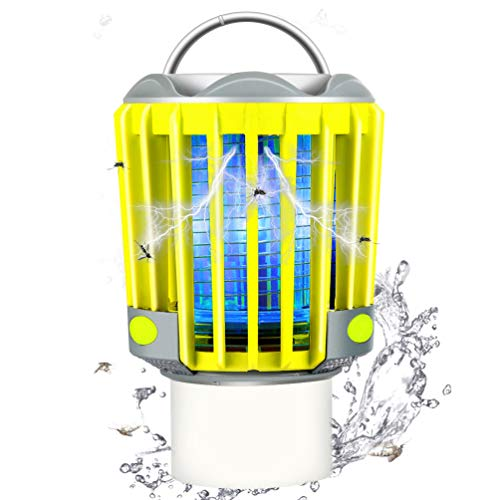 RUNACC Campinglampe LED Mückenlampe Laterne Moskitolampe Outdoor Wasserdicht IP66 mit 2200mAh Akku, Bug Zapper Mosquito Killer Taschelampe...