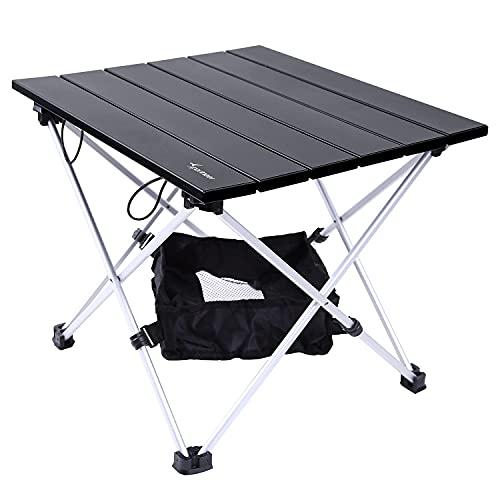 Campingtisch, Sportneer Klapptisch Camping, Aluminium Camping Tisch Leichte mit Tasche, Leicht zu tragen, klappbar Tisch Präfekt für...