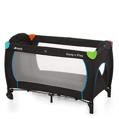 Hauck Reisebett Sleep N Play Go Plus / für Babys und Kinder ab Geburt bis 15 kg / 120 x 60 cm / Leicht / Kompakt Faltbar / Inkl. Trage...