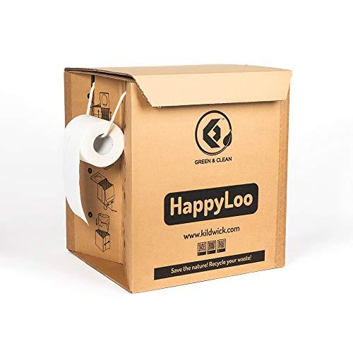 Kildwick HappyLoo Trockentoilette aus stabilem Karton