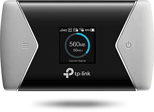 TP-Link M7650 mobiler WLAN Router (4G/LTE bis zu 600Mbit/s Download/ 50Mbit/s Upload, Hotspot, Cat11, 3000mAh Akku, LCD Display, kompatibel...