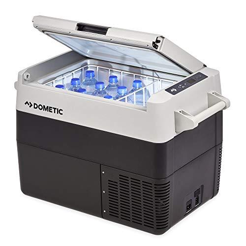 DOMETIC CoolFreeze CFF 45, tragbare elektrische Kompressor-Kühlbox, 38 Liter, 12/24 V und 230 V für Auto, Lkw, Boot, Reisemobil und...