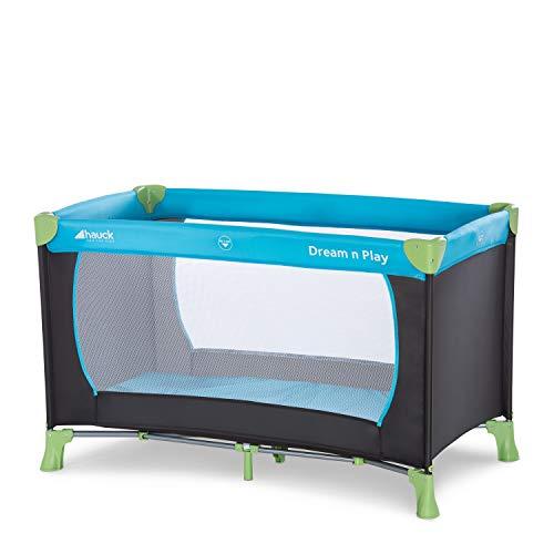 Hauck Reisebett Dream N Play / für Babys und Kinder ab Geburt bis 15 kg / 120 x 60 cm / Leicht / Kompakt Faltbar / Inkl. Trage Tasche /...