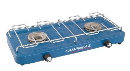 Campingaz Base Camp kompakter Outdoor Campingkocher, Gaskocher 2 flammig, Tischkocher 3.200 Watt, Blau ,Einheitsgröße