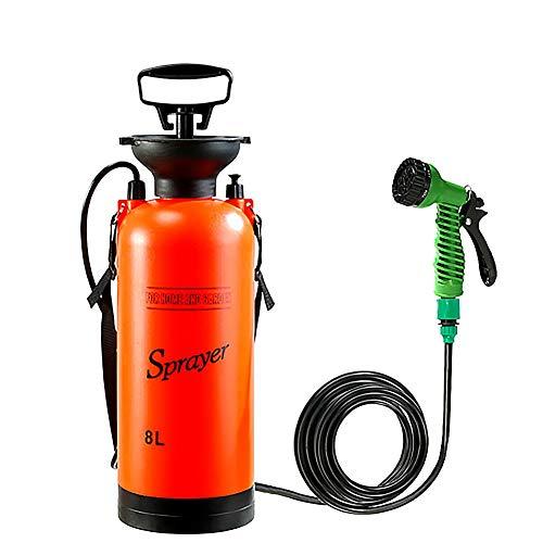 Magent Camping-Dusche Campingdusche Solardusche Tasche, 8L Tragbare Solar Gartendusche Außen Warmwasser Dusche Reisedusche Mit Thermometer,...