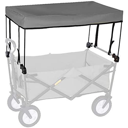 bollerwagen Dach,Faltbarer Bollerwagen Folding Outdoor-Hand Push tragbare Trolley Cart Zubehör - Markise Baldachin