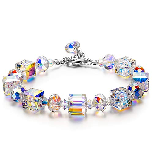 Susan Y Armband Damen Frauen Armband Armreif Schmuck Kristalle Damenarmband Weihnachten Valentinstag Muttertag Geburtstag Geschenke für...
