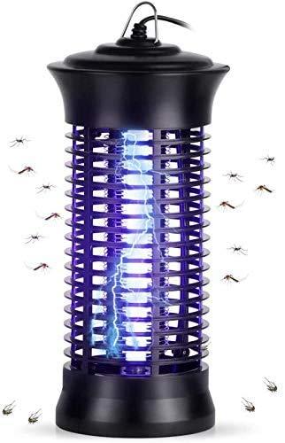 Feizhibo Insektenvernichter, elektrischer Insektenzapper 6W mit UV-Licht Insektenfalle Mückenfalle Moskito Killer Mückenlampe gegen...