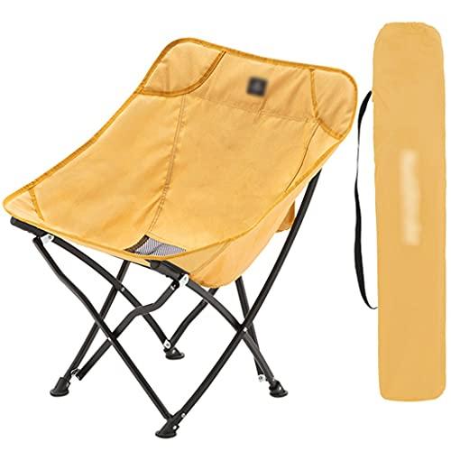 Campingstuhl Ultraleicht Klappstuhl Aus Stahl Für Den Außenbereich, Tragbarer Campingstuhl Für Picknick, Kann Bis Zu 264 Pfund Halten...