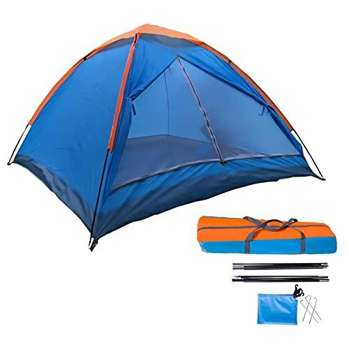 IrahdBowen Campingzelt 3-4 Personen Kuppelzelte Wasserdicht Strandzelt Outdoor Sonnenschutz Für Strand Wetterschutz & Sichtschutz Zelte...