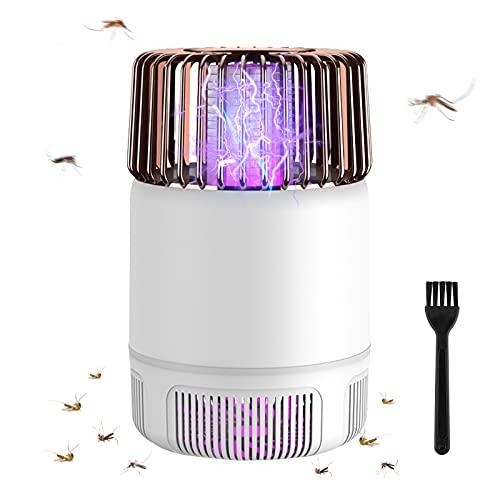 yotame Elektrischer Insektenvernichter, Fliegenfalle Elektrisch UV Mückenfalle Mückenlampe USB Wiederaufladbar Moskito Killer Lampe für...