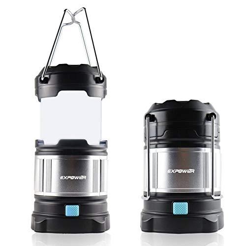 IPX5 wasserdicht tragbare LED Camping Laterne Helle Campinglampe Gartenlaterne Led USB Lampe Taschenlamp eingebaute wiederaufladbare 4400mAh...