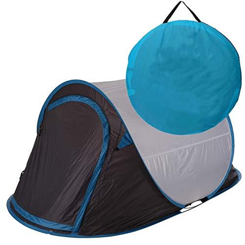 Zelt Pop Up Wurfzelt 2 Personen von JEMIDI Festival Zelte Trekkingzelt Campingzelt Automatik Sekundenzelt Strand Strandzelt 220cm x 120cm x...
