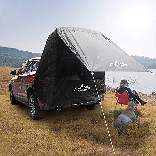 GJCrafts heckzelt Auto, mit Moskitonetz Winddicht, Sonnenschutz, wasserdicht Auto Camping Zelt/Angelzelt für Outdoor Camping,...