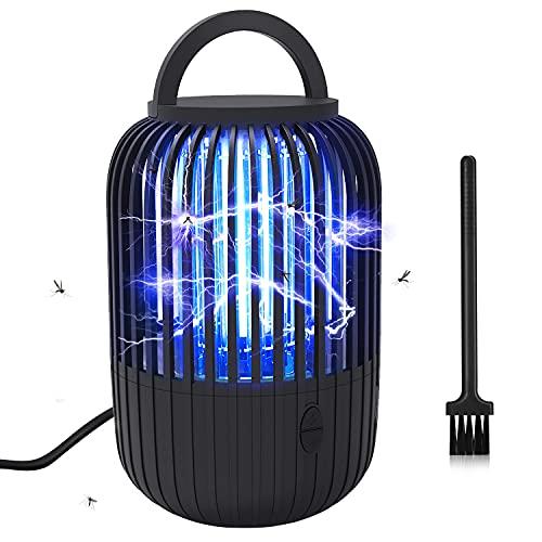 SUPCHON Insektenvernichter, Electric Mückenlampe 12W UV Mückenschutz mit Timer-Funktion Fliegenfalle insektenfänger UV-Strahlung 380...