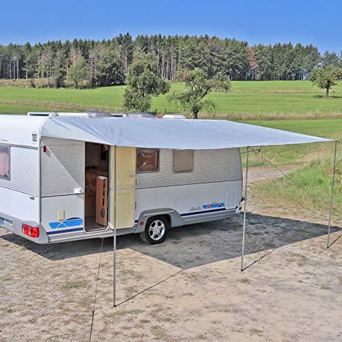 Reimo Tent Technology Sonnensegel Sonnenvordach Markise Sonnensegel 200-900 x 240 cm Wohnwagen Wohnmobil Verschiedene Größen (250 x 240...