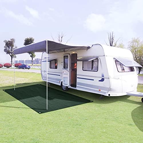 SANON Sonnensegel Rechteckig Dreieckig Wasserdicht Camping Wohnwagen Sonnenschirm Terrasse Sonnenschirmst?Nder Tarnnetz Zimmer Zelt Pergola...