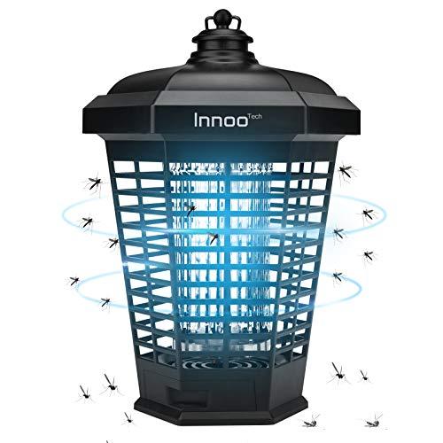 Elektrischer Insektenvernichter 4200V, Insektenfalle Mückenlampe 18w Keine giftigen Chemikalien Wirksam zum Reduzieren Fliegender Insekten...