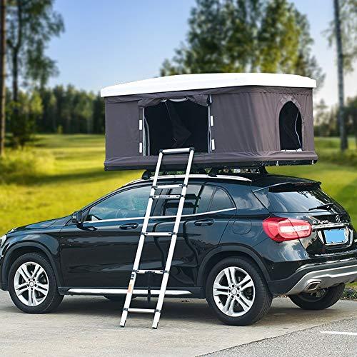 Dawnzen Hydraulischer Automatischer Dachzelt-selbstfahrender Ausflug Im Freien, Verwendbar Für 2-3 Leute ABS Auto-Zelt-Dachzelt
