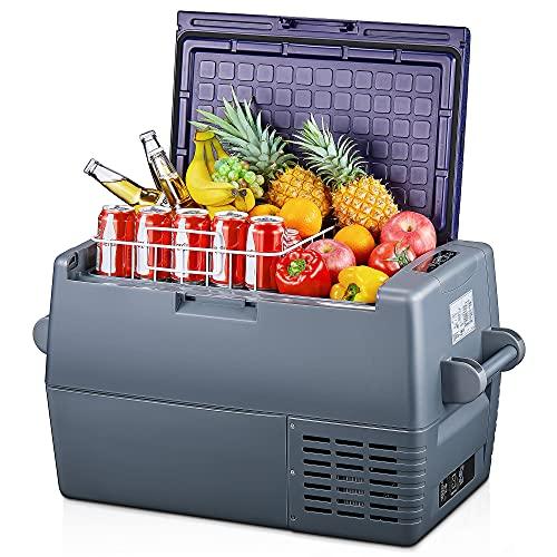 45L Auto Kühlbox -20°C~+10°C Kompressor Kühlschrank, große Kapazität, elektrische Kühlbox, 12/24V DC und 100-240V AC, für Outdoor,...
