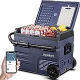 BODEGA Kompressor Kühlbox Auto Kühlschrank, 45L Elektrische Kühlschrank, Doppelzone, APP-Steuerung, 12/24V DC und 100-240V AC für...