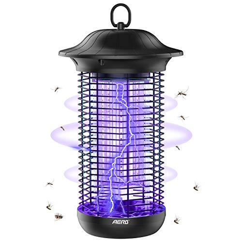 Aerb Elektrischer Insektenvernichter,Insektenfalle Mückenlampe 18w 4000V mit UV-Licht,Keine giftigen Chemikalien,Wirksam zum Reduzieren...
