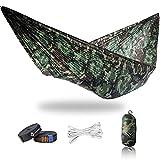 onewind Camping-Hängematte, Camouflage, 335cmx140cm, Ultraleicht, tragbar, kompakt für Jagd, Camping, Rucksackreisen