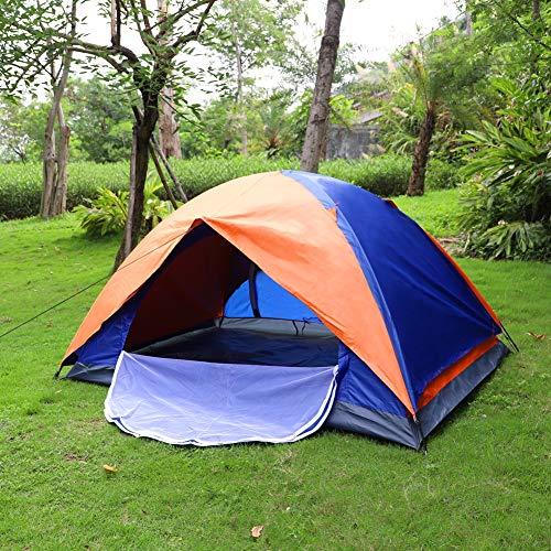 Kuppelzelt Outdoor Zelt für 1-2 Personen Wasserdicht&Winddicht Schnellöffnungs Wurfzelt mit Tragetasche für Trekking Festival Sport...